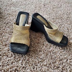 Frank Sarto wedge sandals